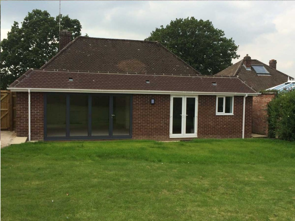 Completed Rear Extension