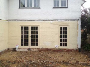 Newbury Builder - Single Storey Extension - During Process - Before Work
