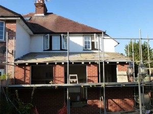 Newbury Builder - Single Storey Extension - During Process