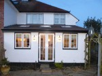 Newbury Builder - Single Storey Extension - During Process - Completed